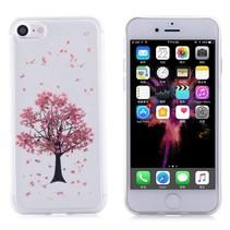Roze Boom TPU Hoesje iPhone 7