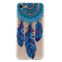Blauwe Dromenvanger TPU Hoesje iPhone 7