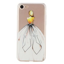 Elegante Dame TPU Hoesje iPhone 7