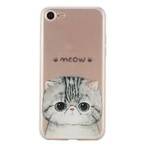 Meow TPU Hoesje iPhone 7