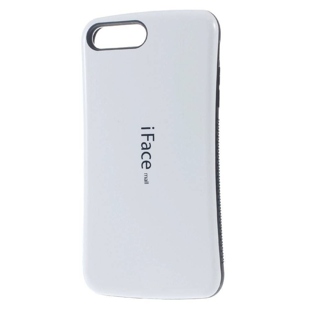 Wit Hybrid Hoesje iPhone 7 Plus