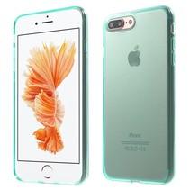 Groen / Transparant TPU Hoesje iPhone 7 Plus