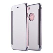 Zilverkleurig Mirror Bookcase Hoesje iPhone 7 Plus