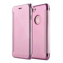 Roze Mirror Bookcase Hoesje iPhone 7 Plus