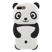 Panda Siliconen Hoesje iPhone 7 Plus