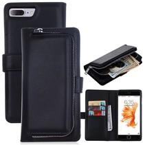 Zwart 2-in-1 Bookcase Hoesje iPhone 7 Plus