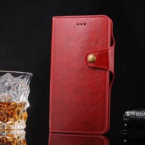 Rood 2-in-1 Bookcase Hoesje iPhone 7 Plus