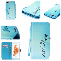 Smile Bookcase Hoesje iPhone 7 Plus
