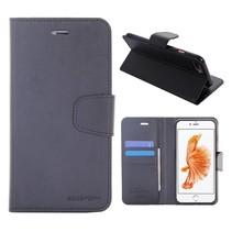 Diary Zwart Bookcase Hoesje iPhone 7 Plus