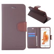Diary Bruin Bookcase Hoesje iPhone 7 Plus