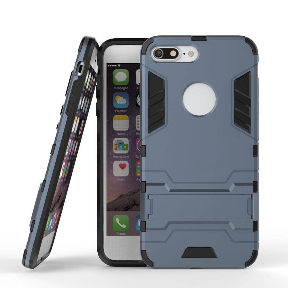 Grijs 2-in-1 Hybrid Hoesje iPhone 7 Plus