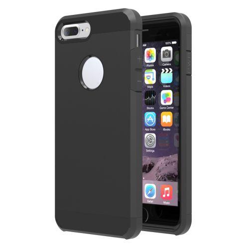 Zwart Hybrid Hoesje iPhone 7 Plus