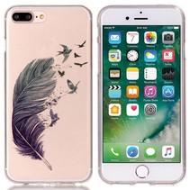 Veer en Vogels TPU Hoesje iPhone 7 Plus