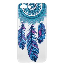 Blauwe Dromenvanger TPU Hoesje iPhone 7 Plus