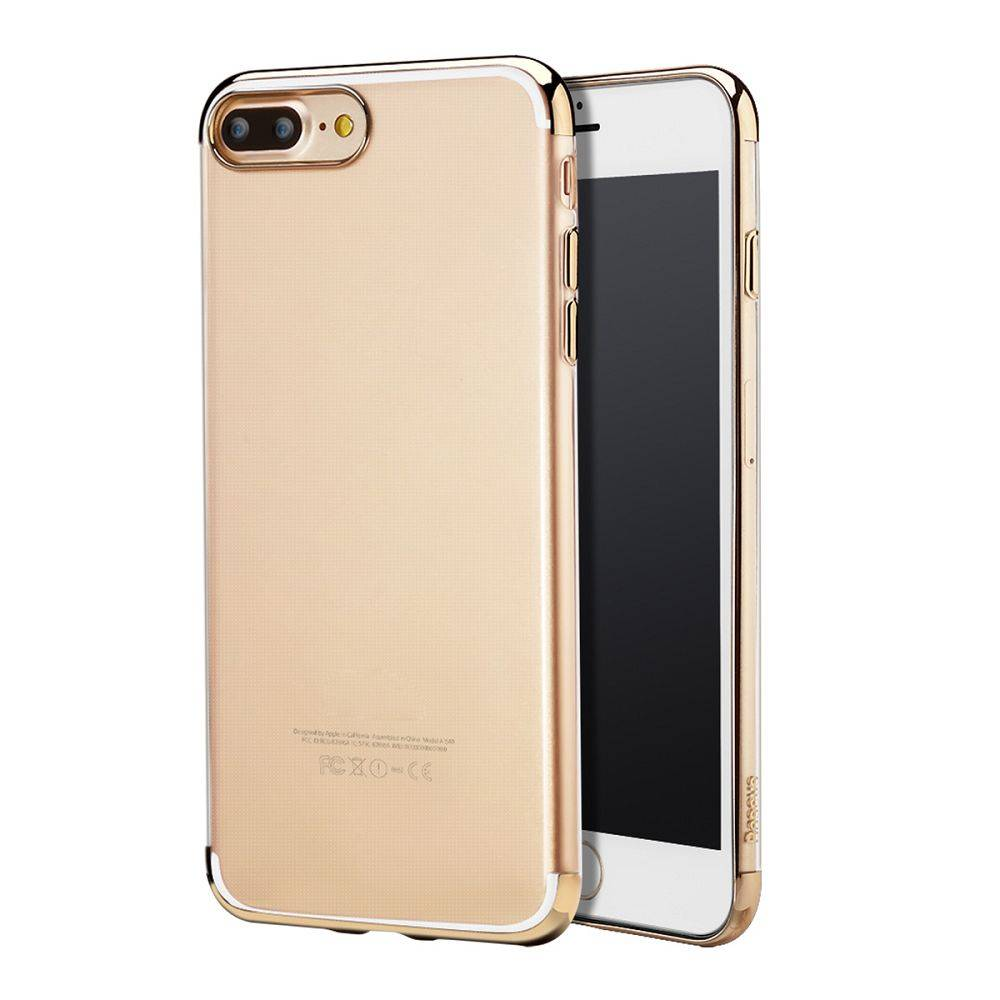 Goud TPU Hoesje iPhone 7 Plus