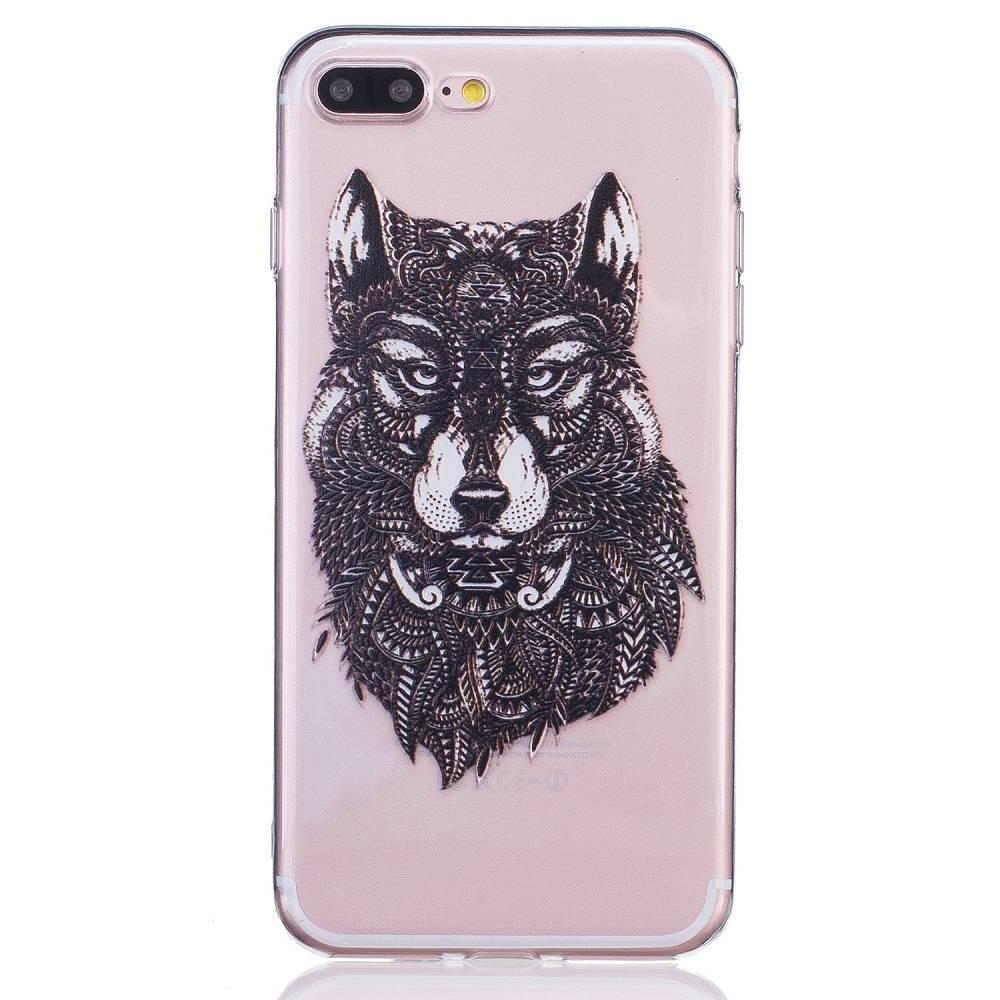 Wolf TPU Hoesje iPhone 7 Plus