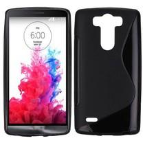 Zwart S-design TPU hoesje LG G3 S