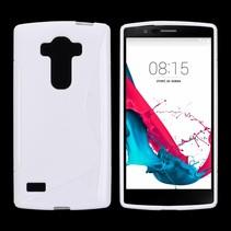 Wit S-design TPU hoesje LG G4