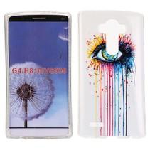 Eye & paint TPU hoesje LG G4