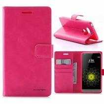 Moon Series Roze Bookcase Hoesje LG G5 / G5 SE