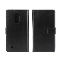Zwart Bookcase Hoesje LG K10