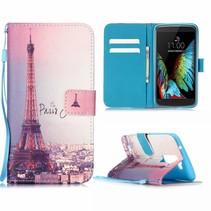 Eiffeltoren Bookcase Hoesje LG K10