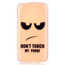 Don't Touch My Phone TPU Hoesje LG K10