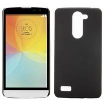 Zwart hardcase hoesje LG L Bello / L80 Plus