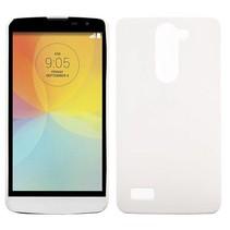 Wit hardcase hoesje LG L Bello / L80 Plus