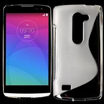 Transparant S-design TPU hoesje LG Leon