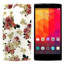 Bloemen TPU hoesje LG Magna