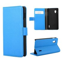 Blauw Booktype  hoesje LG Optimus G