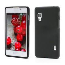 Flexibel hoesje zwart LG Optimus L5 II