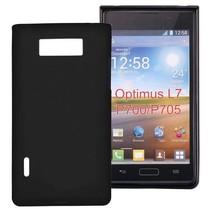 Zwart TPU hoesje LG Optimus L7