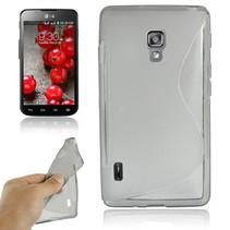 Grijs S-design TPU hoesje LG Optimus L7 II