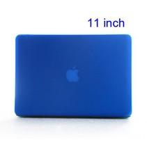 Blauwe Hardcase Cover Macbook Air 11-inch