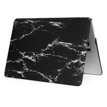 Marmer Hardcover Case Macbook Air 11-inch (Zwart / Wit)