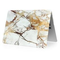 Marmer Hardcover Case Macbook Air 11-inch (Goud / Grijs)