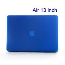 Blauwe Hardcase Cover Macbook Air 13-inch