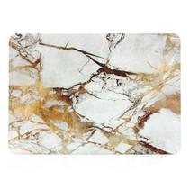 Marmer Hardcover Case Macbook Air 13-inch (Goud / Grijs)