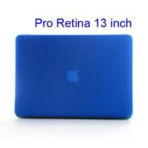 Blauwe Hardcase Cover Macbook Pro 13-inch Retina