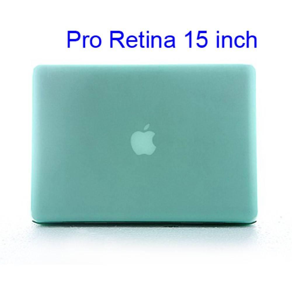 Groene Hardcase Cover Macbook Pro 15-inch Retina
