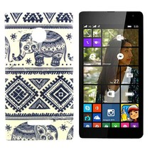 Olifanten TPU hoesje Microsoft Lumia 435