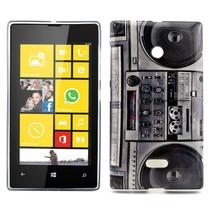 Stereo print TPU hoesje Microsoft Lumia 435