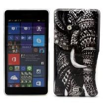 Olifant TPU hoesje Microsoft Lumia 535
