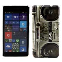 Stereo print TPU hoesje Microsoft Lumia 535