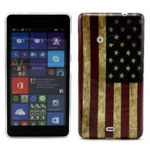 Amerikaanse vlag TPU hoesje Microsoft Lumia 535