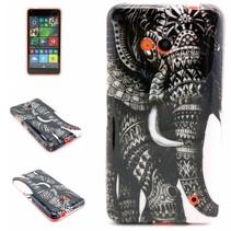 Olifant TPU hoesje Microsoft Lumia 640
