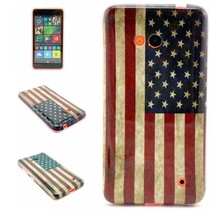 Amerikaanse vlag TPU hoesje Microsoft Lumia 640