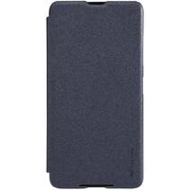 Zwart Bookcase Hoesje Microsoft Lumia 650